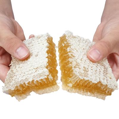 纯正天然蜂巢蜜嚼着吃自产土蜂蜜非野生盒装